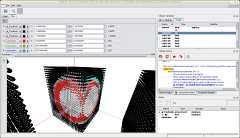 Screenshot of volumetric 3d data